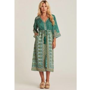 Arnhem Clothing Nastassia Maxi Dress in Mint